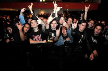 Cannibal Corpse en Colombia - 2010