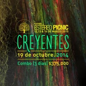 Inicia la venta de entradas para el Festival Estéreo Picnic 2015