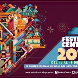 Cartel oficial Festival Centro 2015