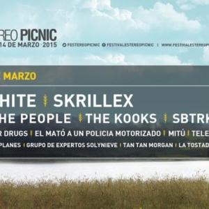 Cartel por días Festival Estéreo Picnic 2015