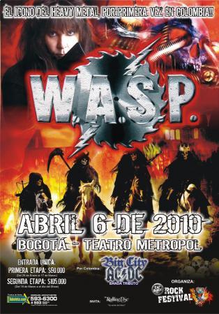 """Resultado de imagen para wasp en colombia 2010"""""""