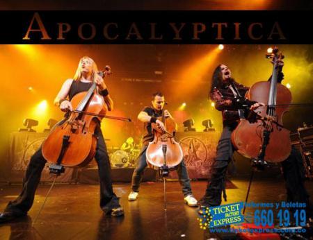 Apocalyptica en Cali - Cali