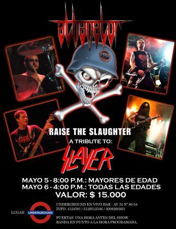 Tributo a Slayer x Athanator - Medellín