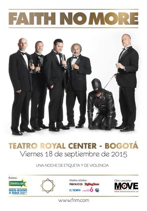 Faith No More en Colombia