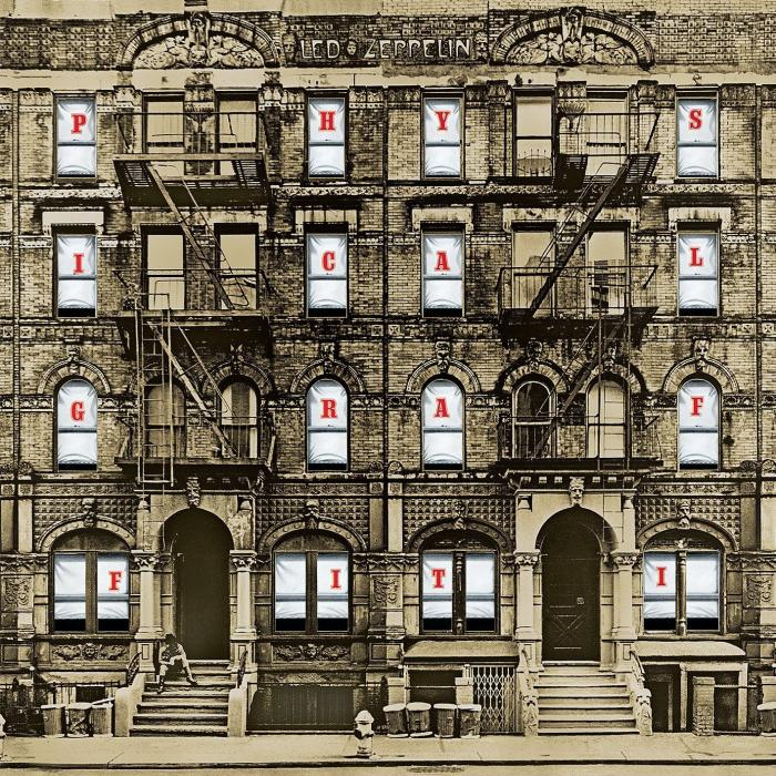 La nueva portada interactiva de Physical Graffiti de Led Zeppelin