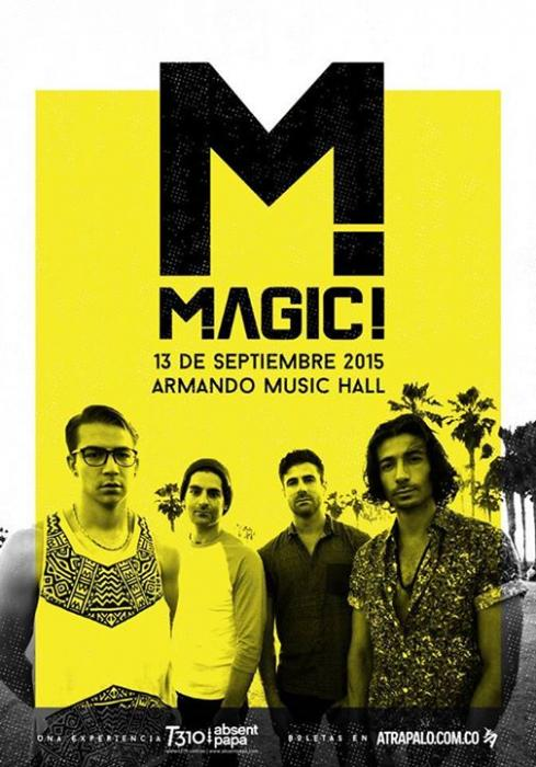 Magic! en Colombia