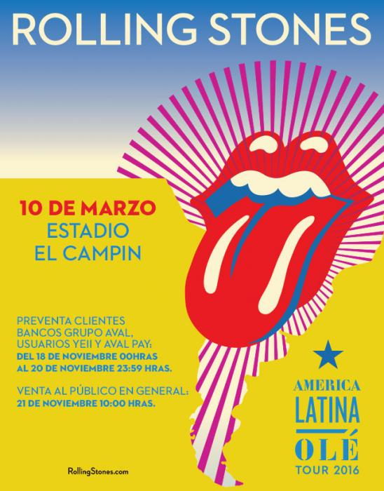 The Rolling Stones en Colombia